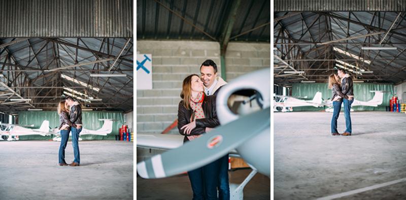 Photographe mariage Toulouse-Séance engagement aérodrome-Tant de Poses (10)