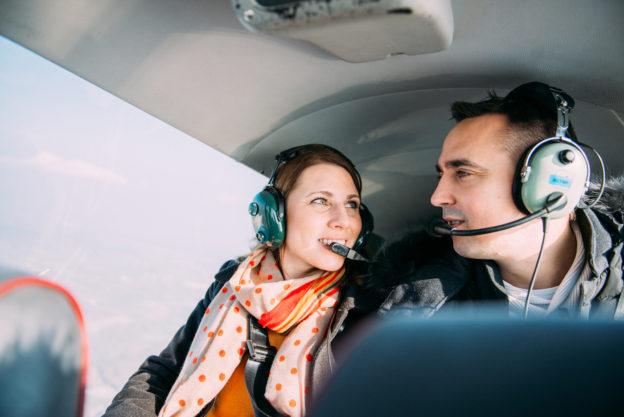 Une séance engagement dans les airs