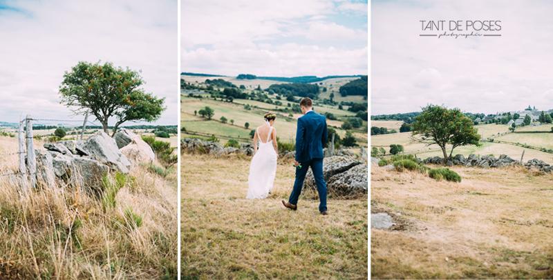 Mariage dans le Cantal - Photographe mariage - Tant de Poses - Photographe Toulouse - Photographe - Mariage 15