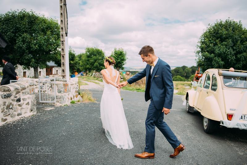 Mariage dans le Cantal - Photographe mariage - Tant de Poses - Photographe Toulouse - Photographe - Mariage 24