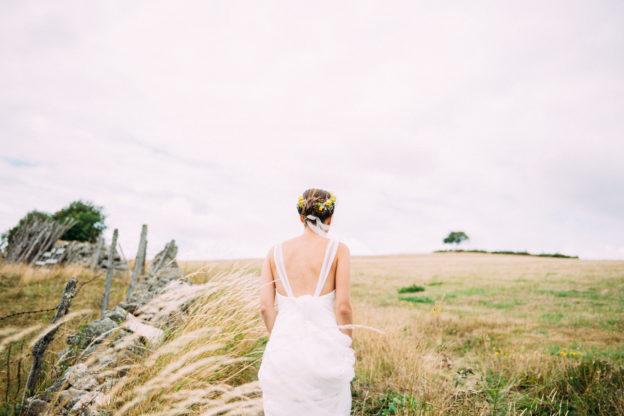 Un mariage dans les champs !