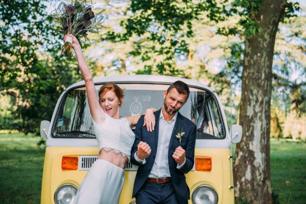 Mariage en petit comité à La Bastide Rouge
